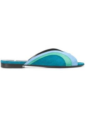 Pierre Hardy - Blue Rainbow Sandals - Women