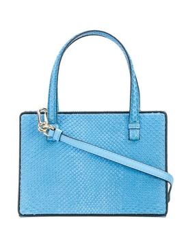 Blue postal bag
