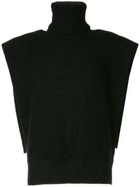 Raf Simons - Turtleneck Vest With Patches - Men