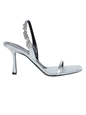 Silver Embellished Ivy High Sandal