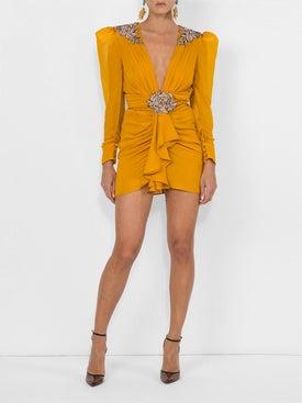 Dundas - Embellished Silk Dress - Women