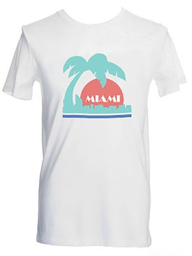 No/one - White Miami T-shirt - Women