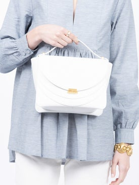 Wandler - White Luna Shoulder Bag - Crossbody