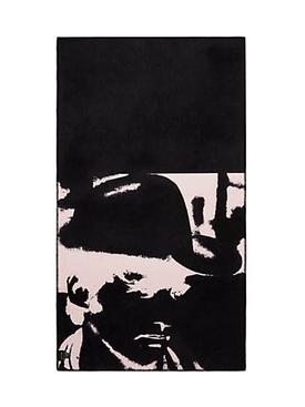 Calvin Klein X Andy Warhol Dennis Hopper blanket RED