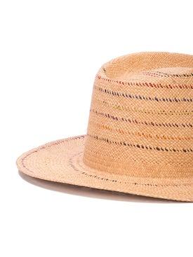 Nick Fouquet - Contrast Straw Hat - Men