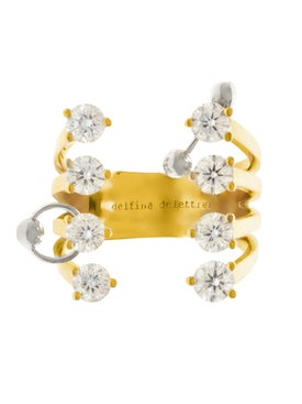 Delfina Delettrez - Diamond Dots Pierced Ring - Women