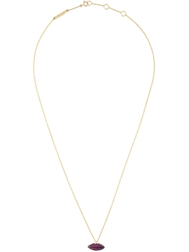 Lips in Chain Necklace