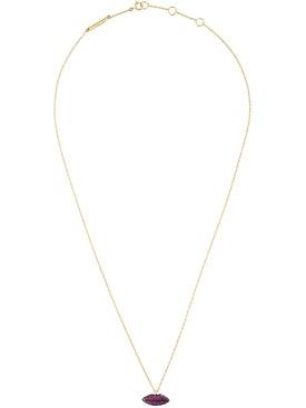 Delfina Delettrez - Lips In Chain Necklace - Women