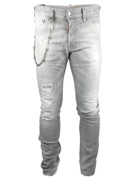 Dsquared2 - Chained Stretch Denim - Men