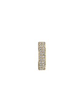 Double Row Diamond Ear Cuff