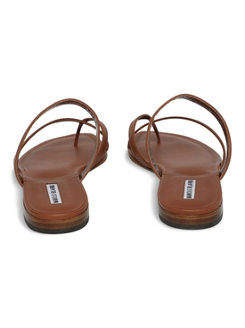 SUSA LEATHER THONG SANDAL, BROWN