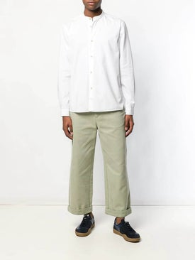 Acne Studios - Casual Button Down White - Clothing