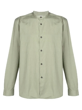 Acne Studios - Casual Button Down Green - Clothing