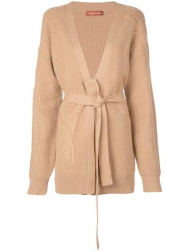 Altuzarra - Embroidered Belted Cardigan - Women