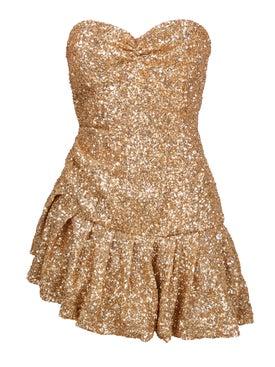 Attico - Asymmetric Mini Dress - Women