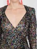 Attico - Sequined Mini Pat Dress - Women