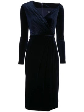 Cushnie - Velvety Pencil Dress - Women