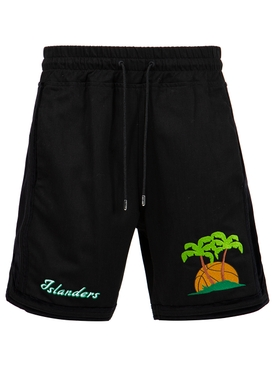 ISLANDERS SWEAT SHORTS BLACK