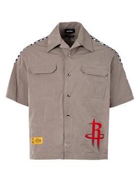 Memory Taffetas Shirt Brown