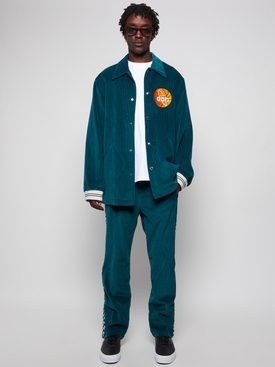 Plain Corduroy Jacket Blue