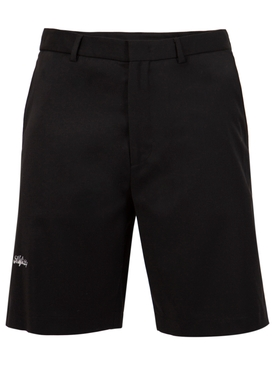 LOGO SUIT SHORTS BLACK