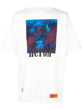 Heron Preston - Heron Bird Print Shirt White - T-shirts