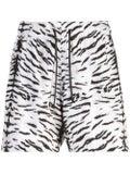 Amiri - Tiger Print Swim Trunks - Men