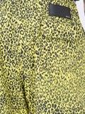 Amiri - Leopard Shorts Yellow - Men