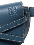 Loewe - Mini Gate Bum Bag Steel Blue - Women