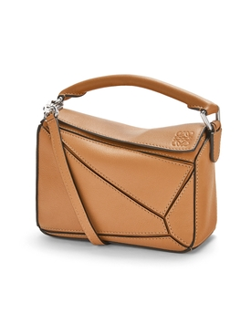 Small Puzzle Handbag LIGHT CARAMEL