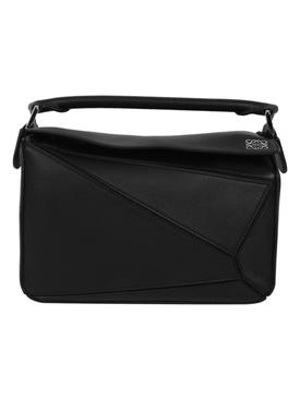 Small Puzzle Bag, Black