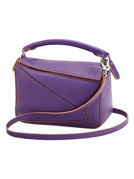 PUZZLE MINI BAG, PURPLE