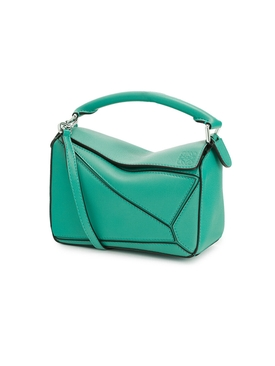 PUZZLE MINI BAG Emerald