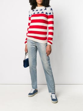 Saint Laurent - Stars And Stripes Sweater - Women