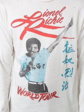 Madeworn - Lionel Richie World Tour T-shirt - Long Sleeve