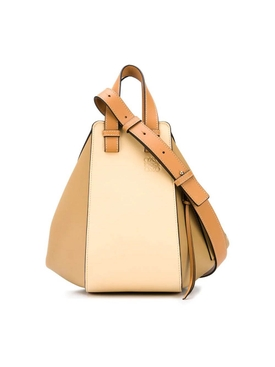 Loewe - Vanilla And Dune Small Hammock Handbag - Women