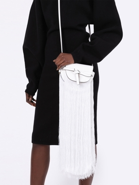 White Gate Fringe Mini Bag