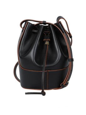 Loewe - Small Balloon Drawstring Shoulder Bag Black - Women