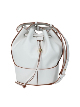 Loewe - Small Balloon Drawstring Shoulder Bag Soft White - Women