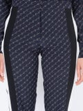 Stella Mccartney - Dana Silk Monogram Pants - Women