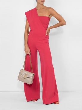 Stella Mccartney - Asymmetric Jumpsuit Pink - Women