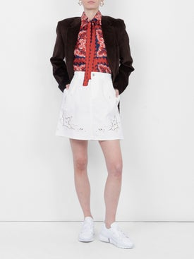 Stella Mccartney - Broderie Anglaise Short Skirt - Women