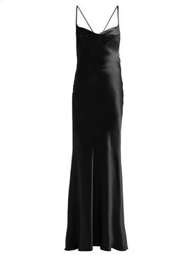 Galvan - Whiteley Dress Black - Evening