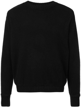 The Elder Statesman - Red Pines Cashmere Sweater Black - Men