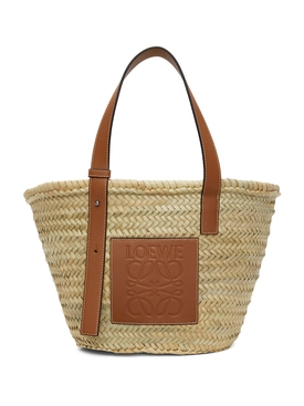 Classic Raffia Basket Bag Natural