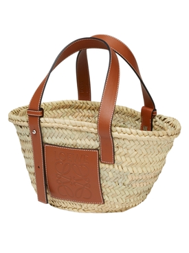 Small logo basket bag