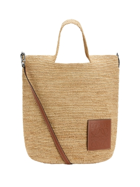 Raffia Slit bag