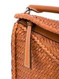 Loewe - Puzzle Woven Small Bag Tan - Women