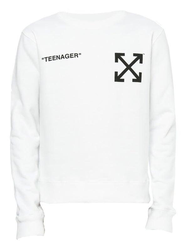 d4c412e40 Off-white - Off-white X The Simpsons Flaming Bart Sweatshirt - Men