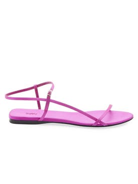 The Row - Bare Flat Sandal Bright Pink - Women